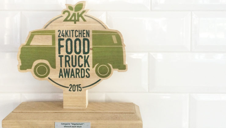 Winnaar 24Kitchen Food Truck Awards